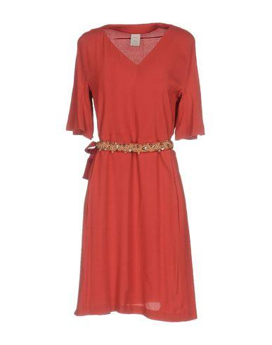 Pinko Short Dress In Rust