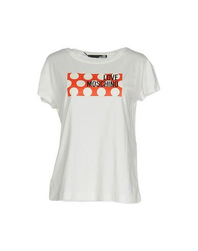 Love Moschino T-shirts In Ivory