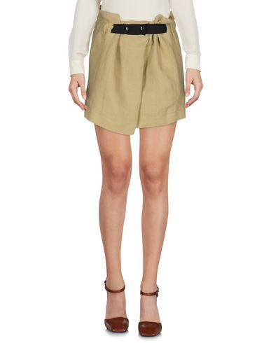 Isabel Marant Mini Skirt In Khaki