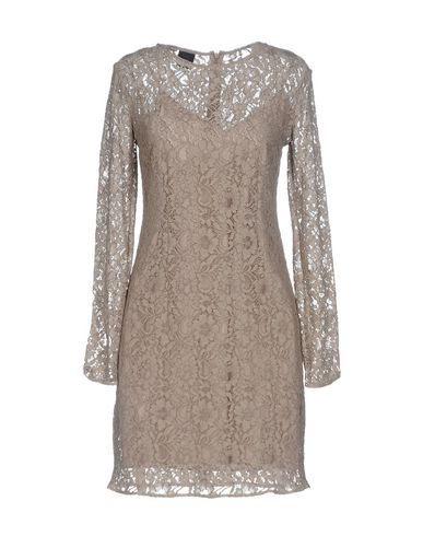Pinko Short Dress In Dove Grey