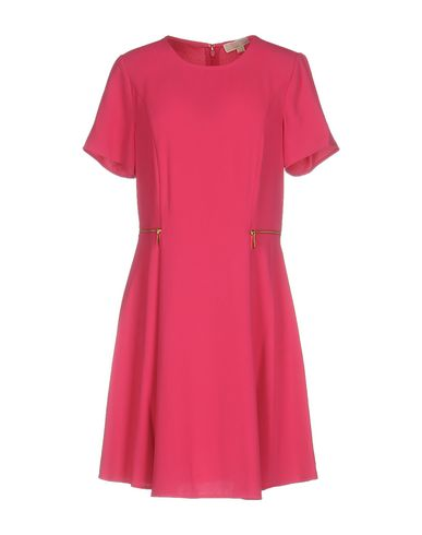 Michael Michael Kors Short Dresses In Fuchsia