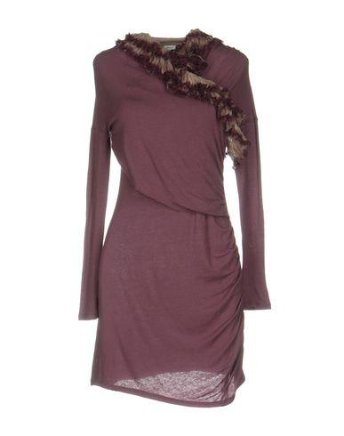 M Missoni Short Dress In Mauve