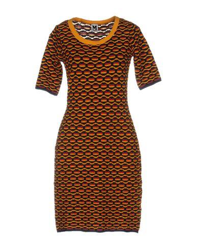 M Missoni Short Dress In Yellow