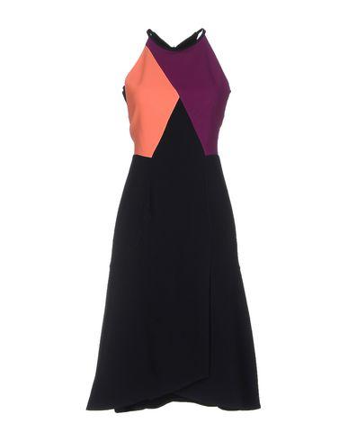 Roland Mouret Knee-length Dress In Dark Blue