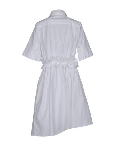 Victoria Victoria Beckham Knee-length Dress In White