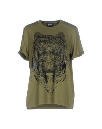Just Cavalli T-shirts In Military Green