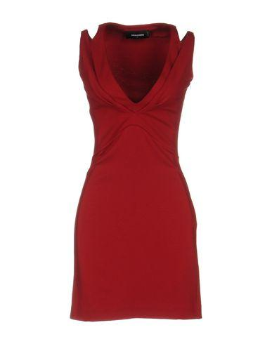 Dsquared2 Short Dress In Red
