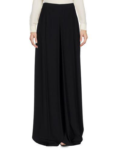 Alexander Mcqueen Long Skirts In Black