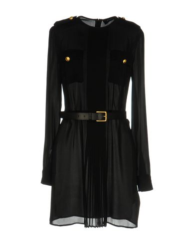 Dsquared2 Shirt Dress In Black