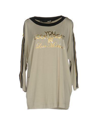 Love Moschino T-shirt In Beige