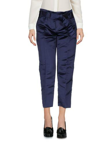 Pinko Cropped Pants & Culottes In Blue