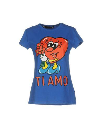 Love Moschino T-shirts In Blue