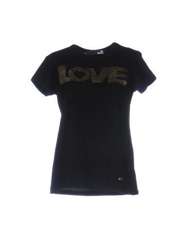 Love Moschino T-shirts In Black