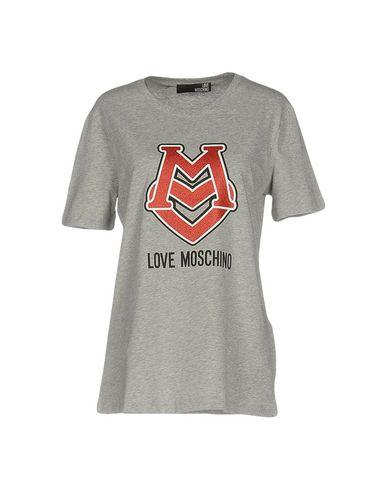 Love Moschino T-shirts In Grey