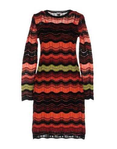 M Missoni Short Dresses In Orange