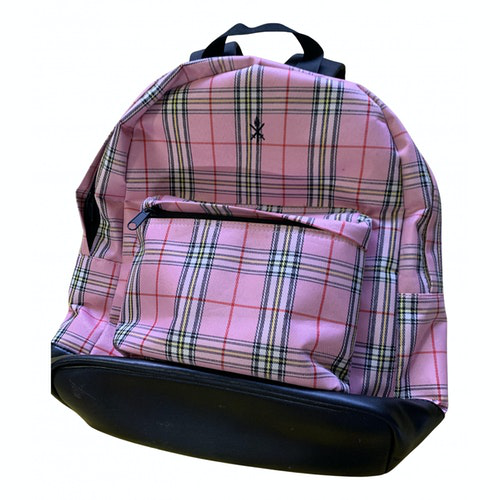 Pre-owned Opening Ceremony Pink Cotton Backpack