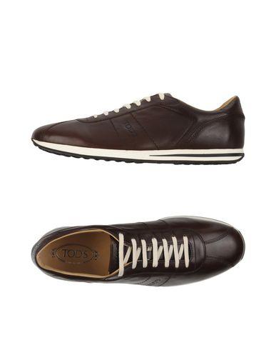 Tod's Sneakers In Dark Brown