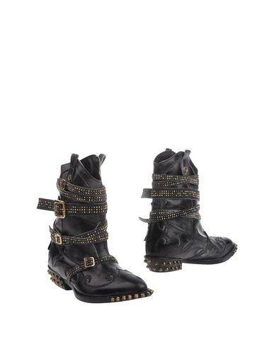 Philipp Plein Ankle Boots In Steel Grey
