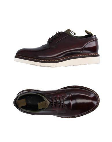 Oamc Laced Shoes In Maroon