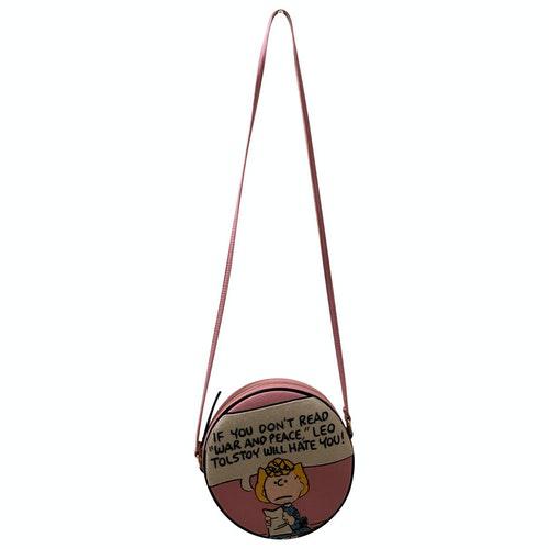 Pre-owned Olympia Le-tan Pink Wool Handbag