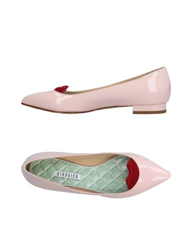 Giannico Ballet Flats In Pink