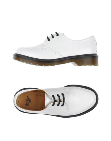 Dr. Martens Lace-up Shoes In White