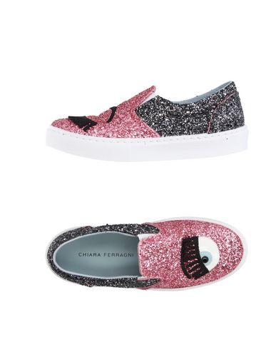 Chiara Ferragni Flirtin Glitter Slip-on Sneakers In Pink