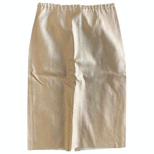 Pre-owned Stouls Leather Skirt