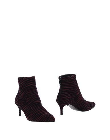Just Cavalli Ankle Boot In Deep Purple