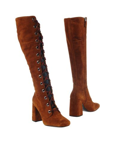 Prada Boots In Camel