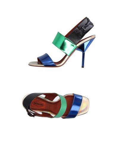 Missoni Sandals In Blue