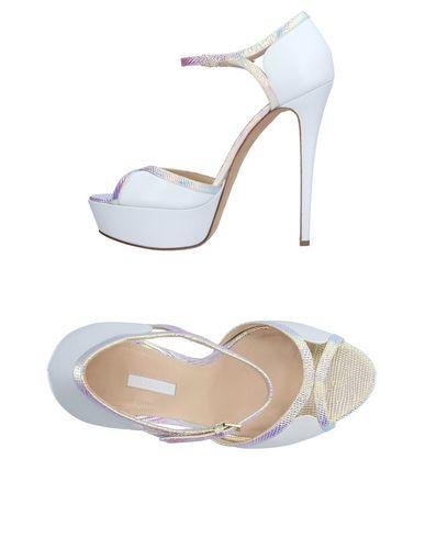 Elie Saab Sandals In White