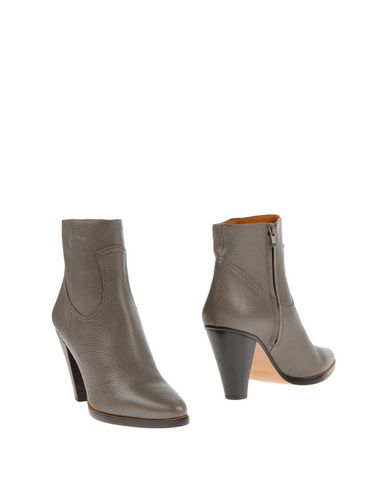ChloÉ Ankle Boots In Lead