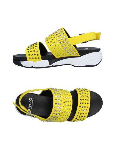 Pinko Sandals In Yellow