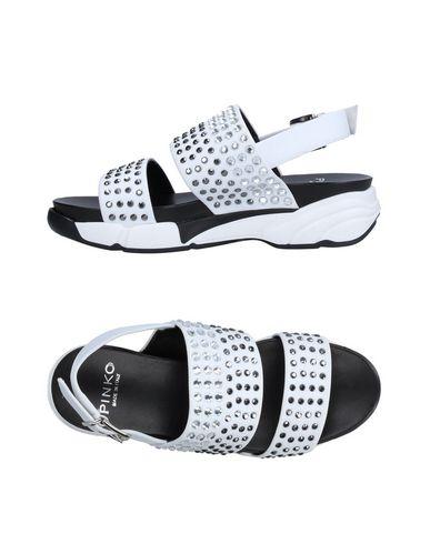 Pinko Sandals In White