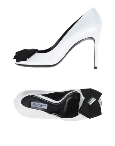 Dolce & Gabbana Pump In White