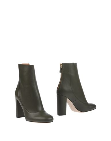 M Missoni Ankle Boots In Military Green