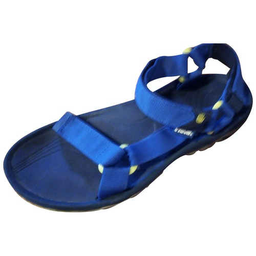 Pre-owned Teva Blue Rubber Sandals