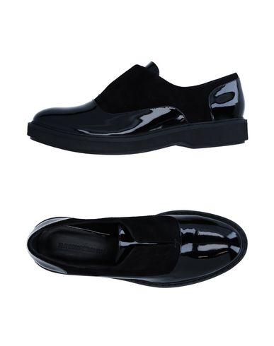 Emporio Armani Loafers In Black