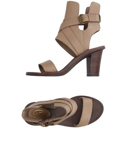 Ash Sandals In Khaki