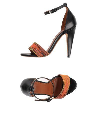 M Missoni Sandals In Orange