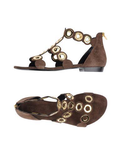 Barbara Bui Sandals In Dark Brown