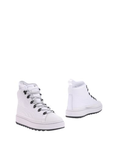 Puma Ankle Boots In White
