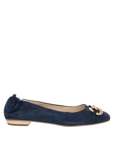Gianna Meliani Ballet Flats In Blue