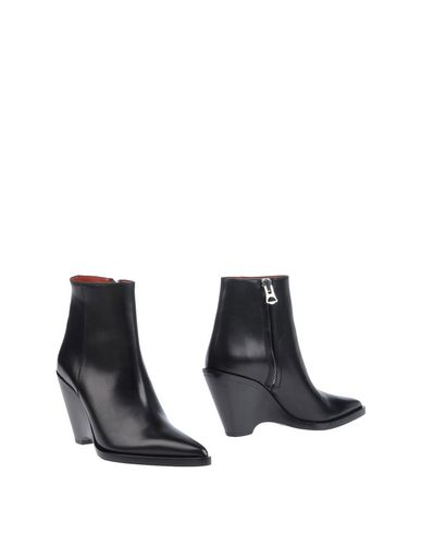 Acne Studios Ankle Boots In Black
