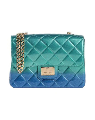 Designinverso Cross-body Bags In Emerald Green
