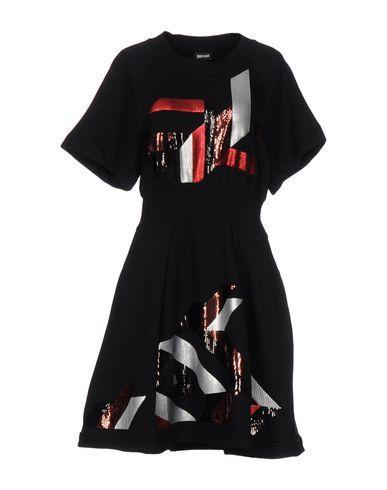 Just Cavalli Short Dresses In Black