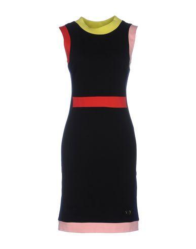 Love Moschino Short Dress In Black
