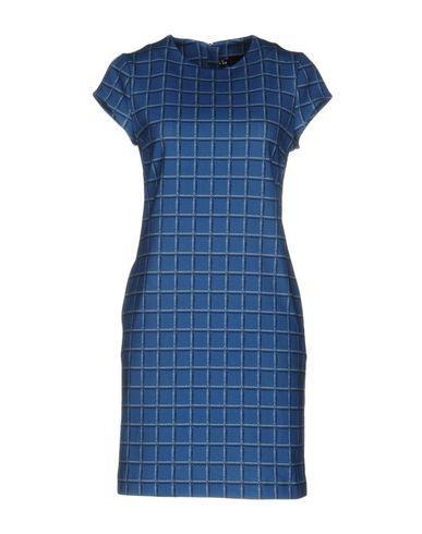 Love Moschino Short Dresses In Azure