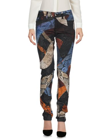 Just Cavalli Casual Pants In Pastel Blue